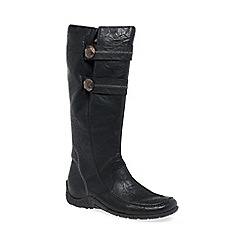 Rieker - Black 'Astrid' long boots