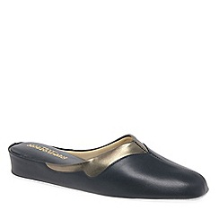 Relax - Navy 'Messina' Ladies Slippers