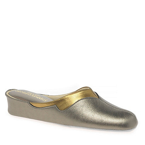 Relax - Metallic +Messina+ Ladies Slippers