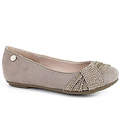 XTI Kids - Taupe 'Valencia' Girls Shoes