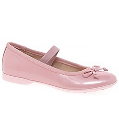 Geox - Girls' pale pink 'Junior Plie' ballerina shoes