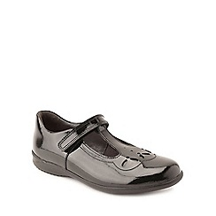 Start-rite - Black patent leather 'Poppy' infant girls school shoes