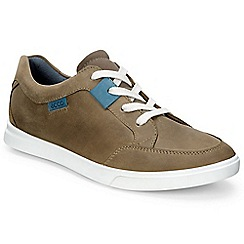 Ecco - Brown 'Biscuit Lace' Boys Casual Shoes