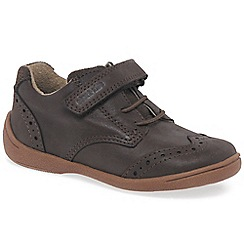 Start-rite - Brown leather 'Supersoft Hugo' first shoes