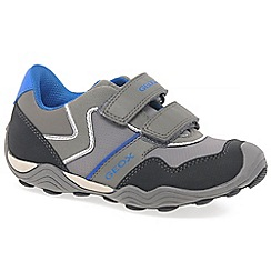 Geox - Boys' grey 'Junior Arno' trainers