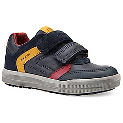 Geox - Boys' navy 'Junior Arzach' casual shoes