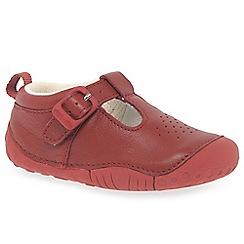 Start-rite - Baby boys' red leather 'Baby Jack' Prewalkers