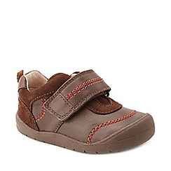 Start-rite - Boys' brown leather 'First Zak' shoes