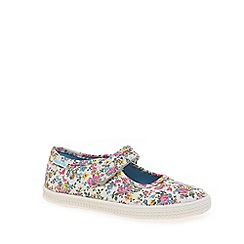 Start-rite - Multi Coloured canvas 'Posy' Mary Jane shoes