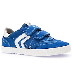 Geox - Boys' royal suede 'Kiwi' casual trainers