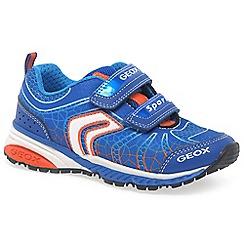 Geox - Boys' blue 'Junior Bernie' trainers