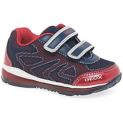 Geox - Baby boys' navy 'Todo' light up trainers