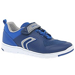 Geox - Boys' blue 'Junior Xunday' trainers