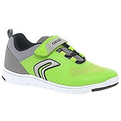 Geox - Boys' lime 'Junior Xunday' trainers
