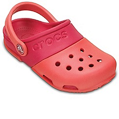 Crocs - Orange 'New Electro II' Girls Clogs