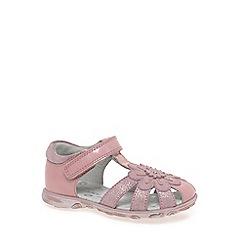 Start-rite - Pink leather 'Primrose' girls first sandals