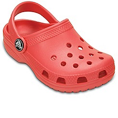 Crocs - Dark orange 'Kids' Classic' Clogs
