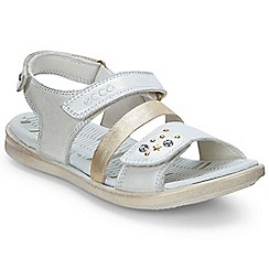 Ecco - White 'Twinky' Girls Infant Sandals