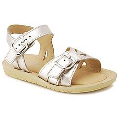 Start-rite - Silver leather 'Soft Harper' sandals