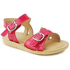 Start-rite - Pink leather 'Soft Harper' sandals