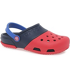 Crocs - Red 'New electro ii' boys sandals