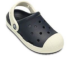Crocs - Navy Bump It Boys Retro Clogs