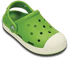 Crocs - Green Bump It Boys Retro Clogs