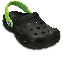 Crocs - Black 'Swiftwater' Boy's Clogs