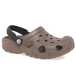 Crocs - Brown 'Swiftwater' Boy's Clogs
