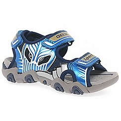 Geox - Boys' blue 'Sandal Strike' sandals