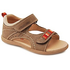Start-rite - Tan leather 'Ellliot' boys first sandals