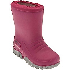 Start-rite - Pink 'Baby Mudbuster' wellingtons