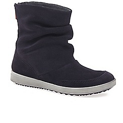 Ecco - Dark purple 'Elli' girls suede boots