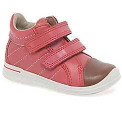 Ecco - Pink 'Empire Velcro' Girls First Boots