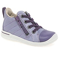 Ecco - Light purple 'Digestive Zip' Girls First Boots