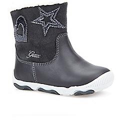 Geox - Baby girls' Grey Balu' infant boots