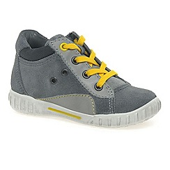 Ecco - Grey 'sam' lace boys infant boots