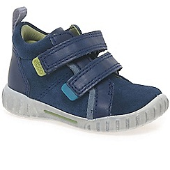 Ecco - Navy 'ashton' velcro boys trainers