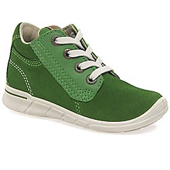 Ecco - Green 'Jaffa Lace' Boys First Boots