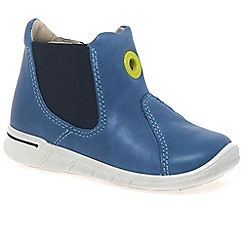 Ecco - Blue 'Malty Boot' Boys First Boots