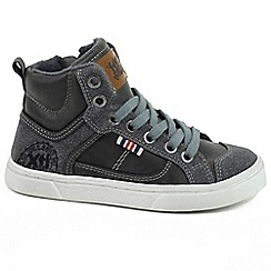 XTI - Grey 'Jonathan' boys high top trainers