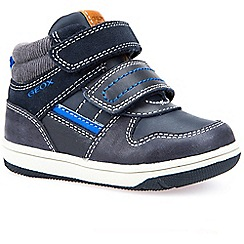 Geox - Baby boys' Navy leather New Flick' boots