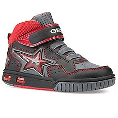 Geox - Black leather 'Junior Gregg' boys boots