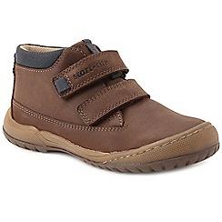 Start-rite - Boys' brown nubuck 'Flexy Smart Pre' infant ankle boots
