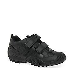 Geox - Boys' black 'Savage' School Shoes