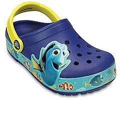 Crocs - Blue 'Lights Dory' Girls Sandals