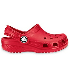 Crocs - Red 'Kids Classic' Childrens Sandals