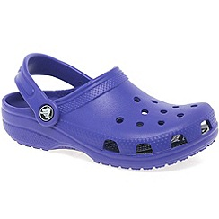Crocs - Purple 'kids classic' childrens sandals