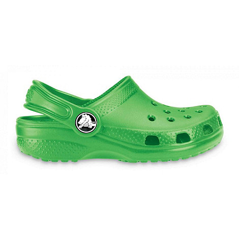 Crocs - Green 'Kids Classic' Childrens Sandals