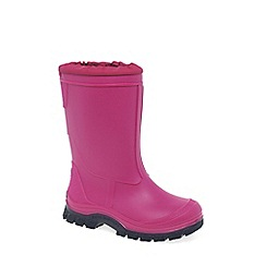Start-rite - Pink 'Mud Buster' Wellingtons